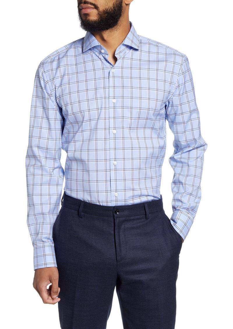 Hugo Boss BOSS Slim Fit Easy Iron Plaid Dress Shirt