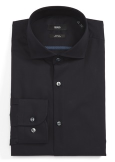 Hugo Boss BOSS Slim Fit Easy Iron Solid Dress Shirt