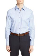 Hugo Boss BOSS Slim Fit Geometric Dress Shirt