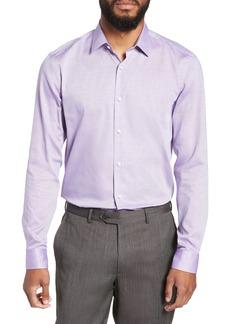 Hugo Boss BOSS Slim Fit Isko Micro Pattern Dress Shirt