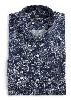 Hugo Boss BOSS Slim Fit Paisley Dress Shirt