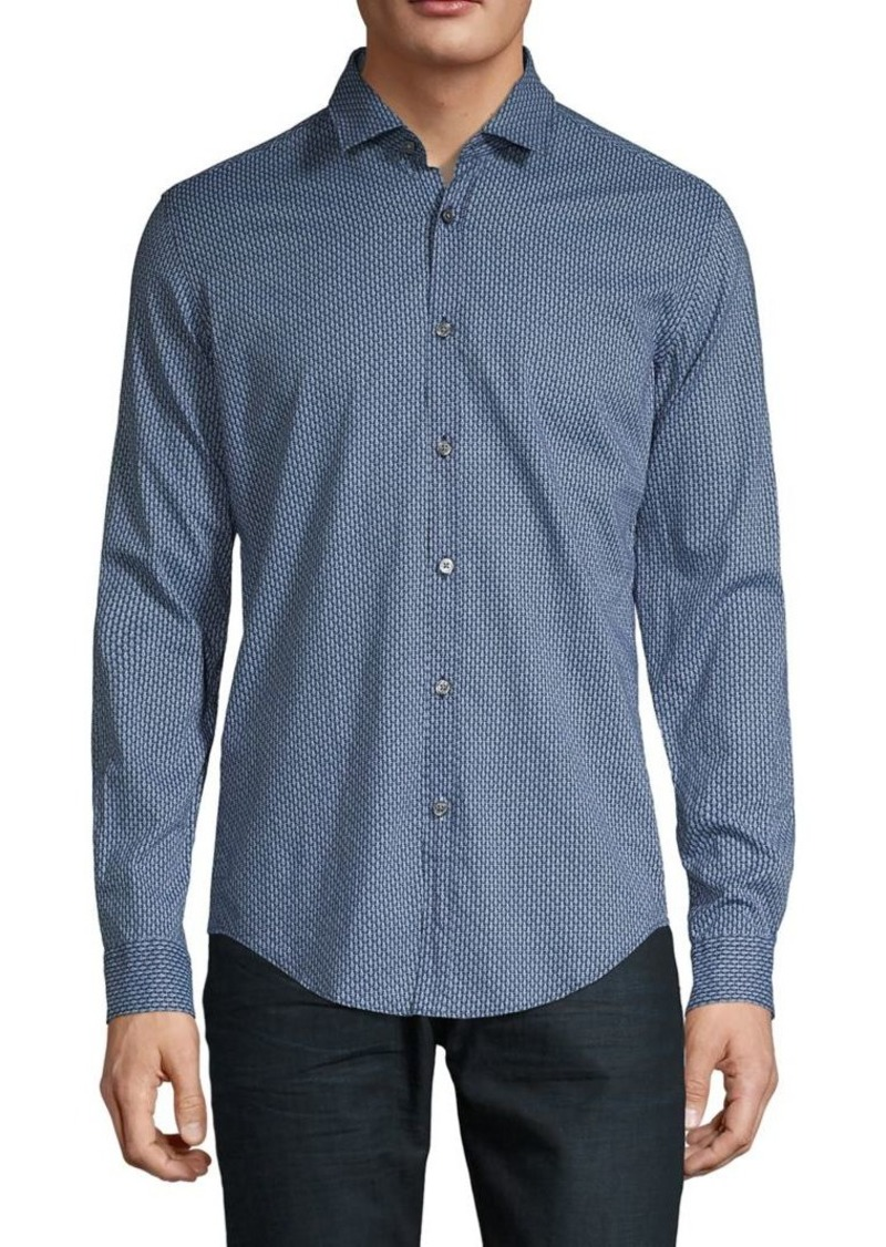 Hugo Boss BOSS Slim-Fit Printed Shirt