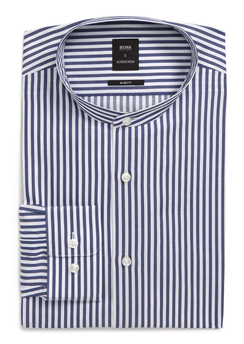 Hugo Boss BOSS Slim Fit Stripe Dress Shirt