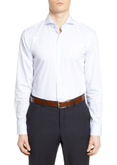 Hugo Boss BOSS Slim Fit Soft Line Stripe Dress Shirt
