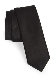 Hugo Boss BOSS Solid Formal Skinny Silk Tie