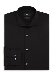 Hugo Boss BOSS Solid Slim Fit Dress Shirt
