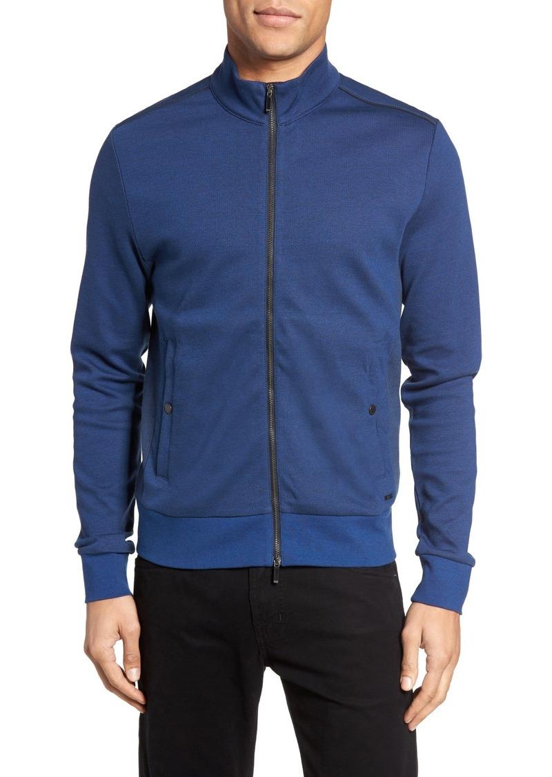 eaababd99 Hugo Boss BOSS 'Sommers' Full Zip Knit Jacket | Outerwear