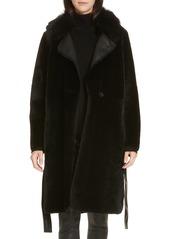 Hugo Boss BOSS Somra Genuine Shearling Coat