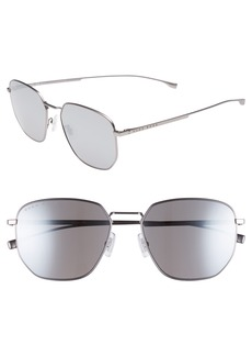 Hugo Boss BOSS Special Fit 58mm Polarized Titanium Aviator Sunglasses