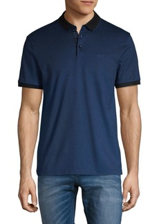 Hugo Boss BOSS Spread Collar Cotton Polo