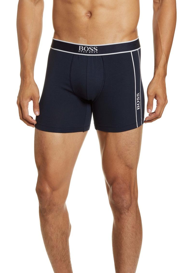 Hugo Boss BOSS Stretch Cotton Logo Boxer Briefs
