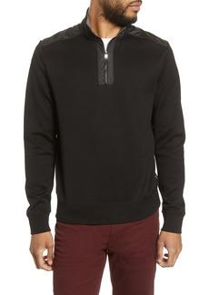 cdde4dc62 Hugo Boss BOSS Sydney 56 Regular Fit Quarter Zip Pullover