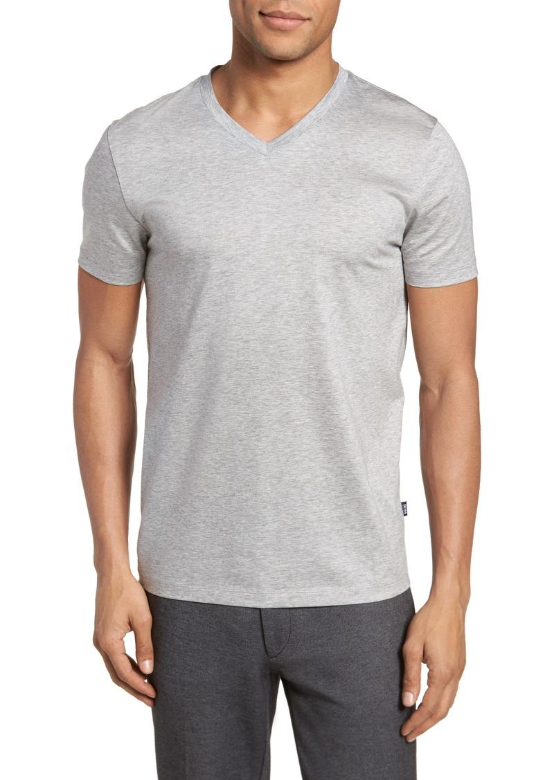 bf1c78b23 SALE! Hugo Boss BOSS Teal Slim Fit V-Neck T-Shirt