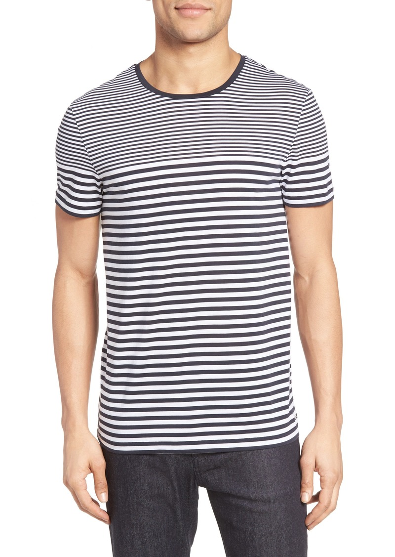 dd7aa617 On Sale today! Hugo Boss BOSS Tessler Slim Fit Stripe T-Shirt