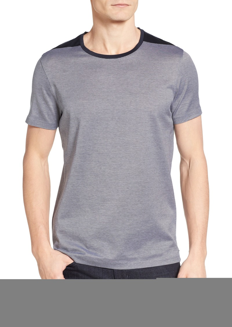75815998 Hugo Boss BOSS Tessler Stripe Mercerized Cotton T-Shirt | T Shirts
