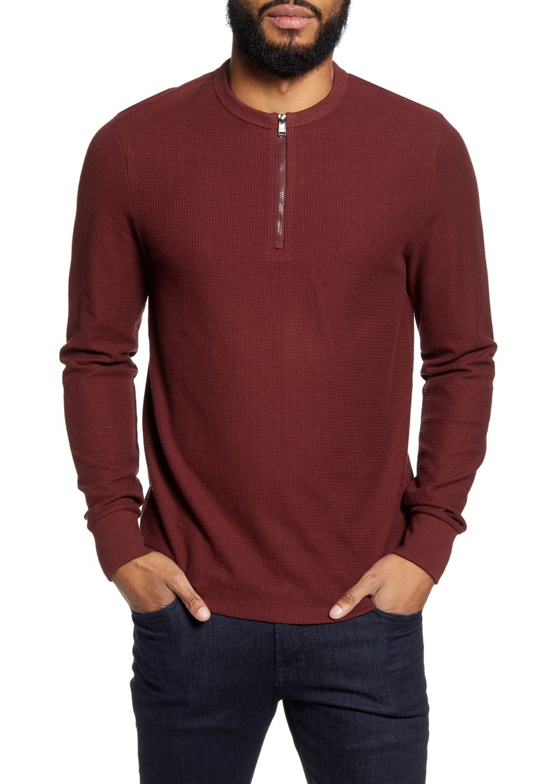 Hugo Boss BOSS Textor Regular Fit Long Sleeve Henley