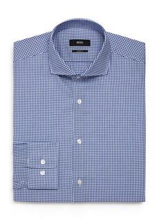 Hugo Boss BOSS Textured-Check Regular Fit Dress Shirt
