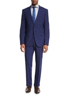 Hugo Boss BOSS Textured Check Wool Two-Piece Suit