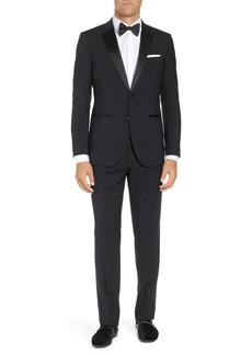Hugo Boss BOSS The Stars/Glamour Trim Fit Wool Tuxedo