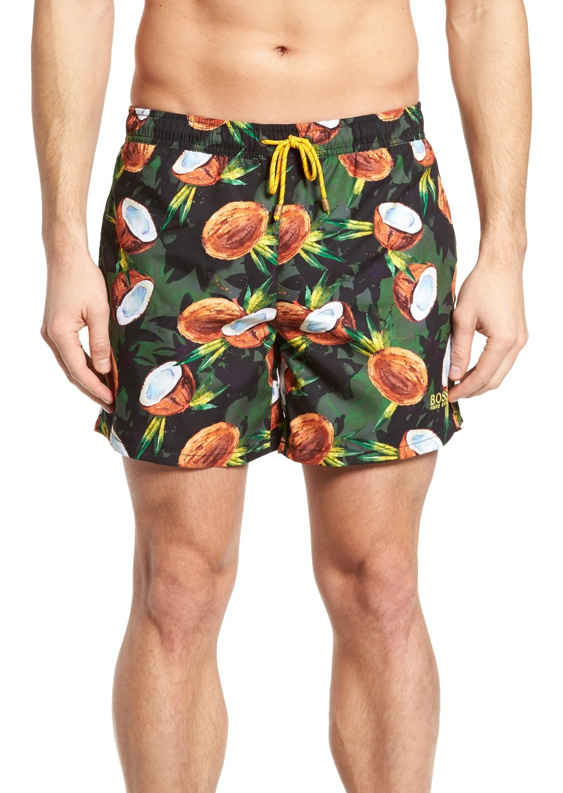 b71180ad335d On Sale today! Hugo Boss BOSS Threadfin Coconut Swim Trunks