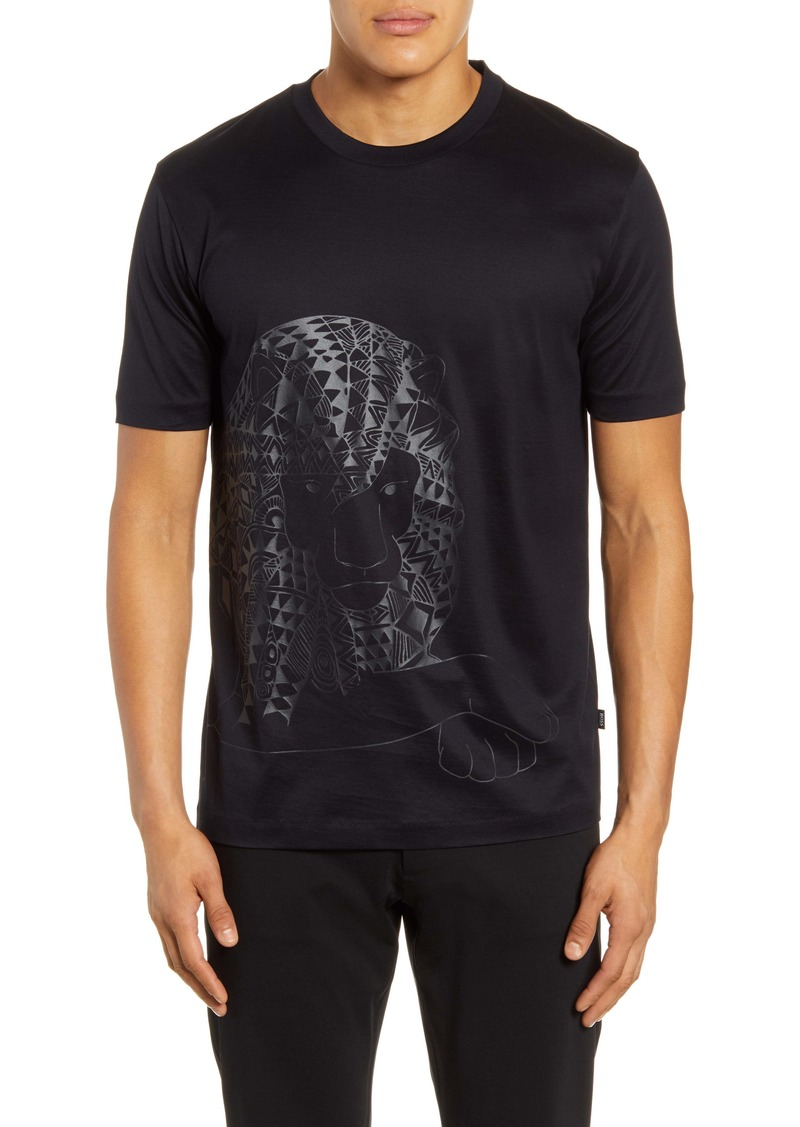 Hugo Boss BOSS Tiburt Lion Graphic T-Shirt