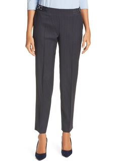 Hugo Boss BOSS Tocane Pinstripe Stretch Wool Trousers (Regular & Petite)