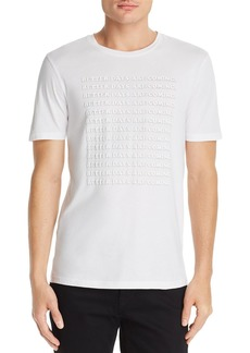 Hugo Boss BOSS Troupe Better Days Graphic Tee