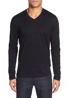 Hugo Boss BOSS 'Tyson' V-Neck Long Sleeve T-Shirt
