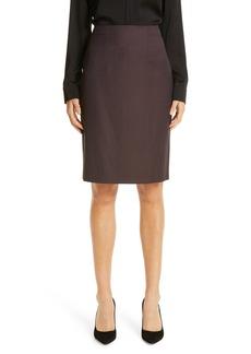 Hugo Boss BOSS Vabahana Wool Pencil Skirt