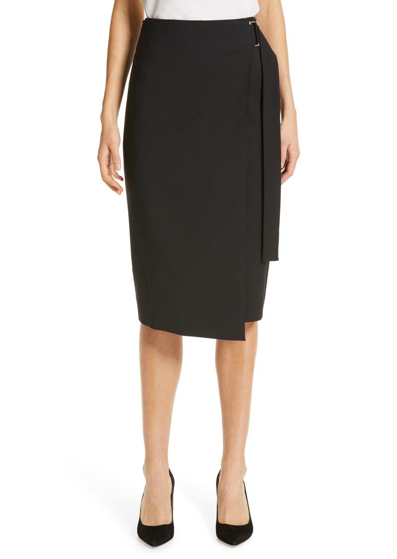 871ae5864a5 Hugo Boss BOSS Vavella Stretch Wool Wrap Skirt