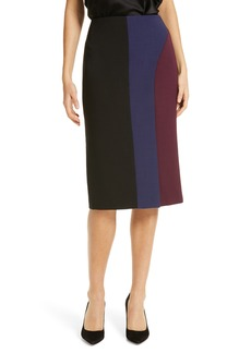 Hugo Boss BOSS Velivia Colorblock Pencil Skirt