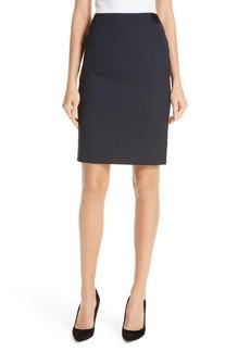 Hugo Boss BOSS Veriba Minidessin Stretch Wool Suit Skirt