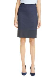 Hugo Boss BOSS Vibena Stretch Wool Pencil Skirt