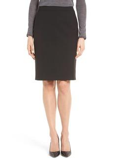 Hugo Boss BOSS Vilea Tropical Stretch Wool Pencil Skirt (Regular & Petite)