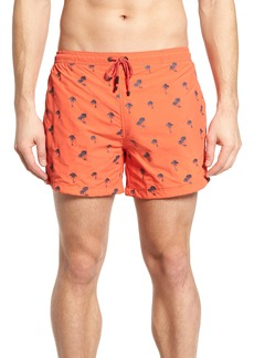 Hugo Boss BOSS White Shark Swim Trunks