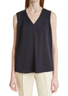 Hugo Boss BOSS Women's Iemilyne Sleeveless Silk Top
