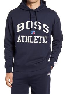 Hugo Boss BOSS x Russell Athletic Safara Varsity Logo Hoodie