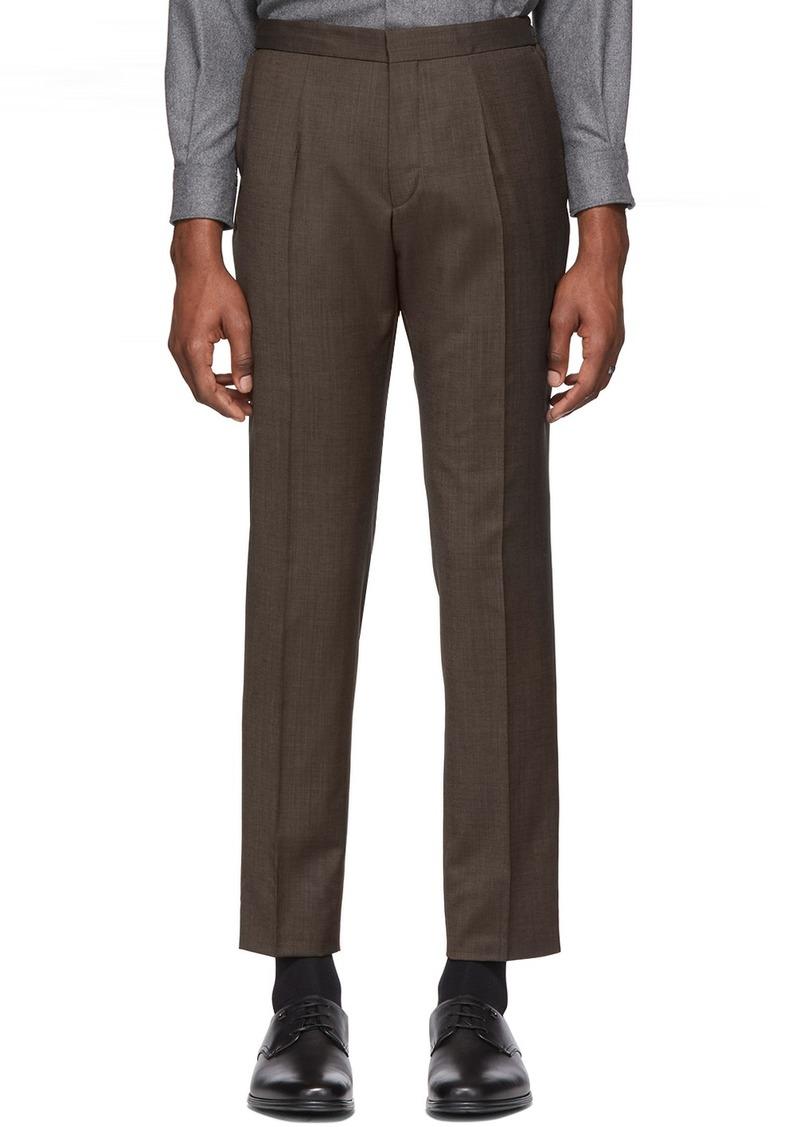Hugo Boss Brown Brider Trousers