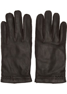 Hugo Boss Brown Karton3 Gloves