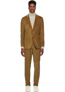 Hugo Boss Brown Novan 5 Ben 2 Suit