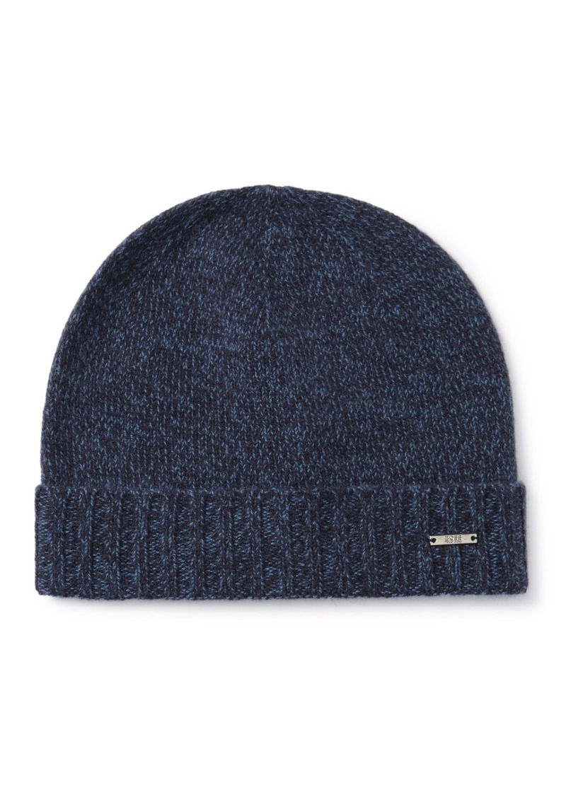 Hugo Boss Cashmere Heather Knit Beanie