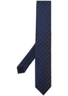 Hugo Boss checked silk tie
