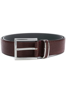 Hugo Boss classic logo buckle belt
