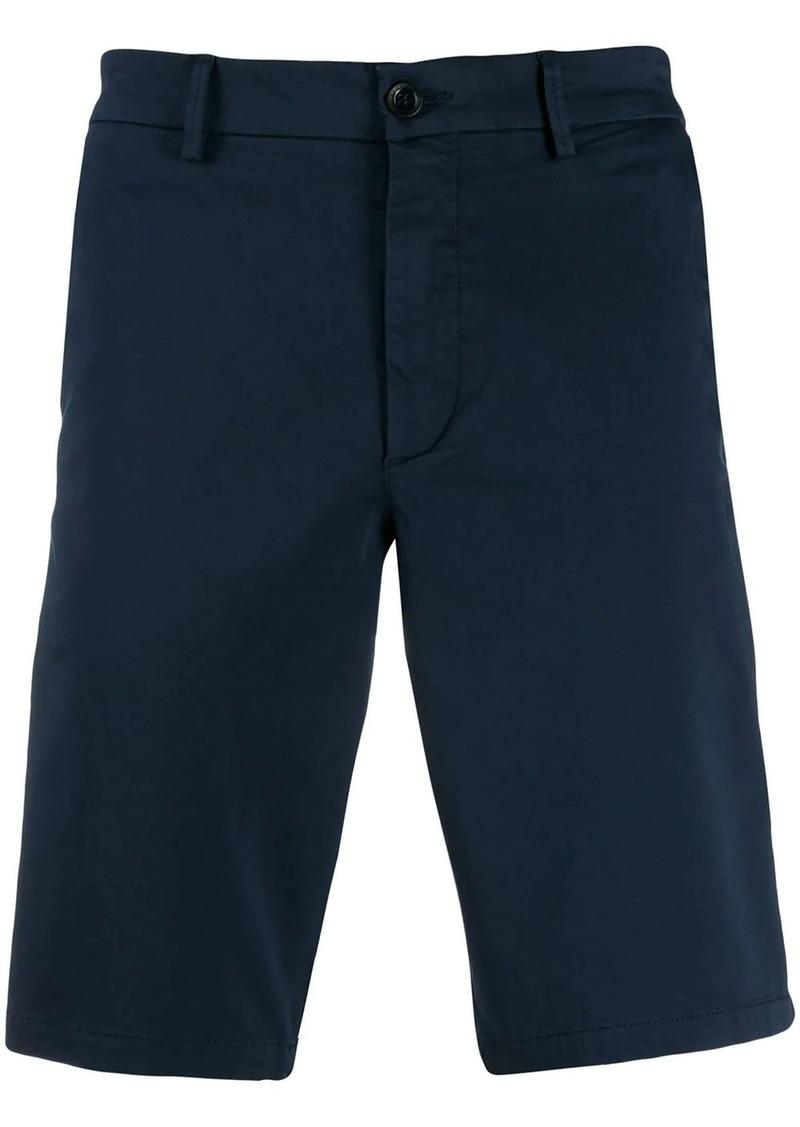 Hugo Boss plain chino shorts