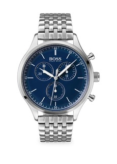 Hugo Boss Companion Stainless Steel Chronograph Watch