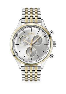 Hugo Boss Companion Stainless Steel Chronograph Watch