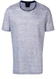 Hugo Boss contrast neckline T-shirt