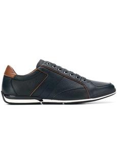 Hugo Boss contrast piped trim sneakers