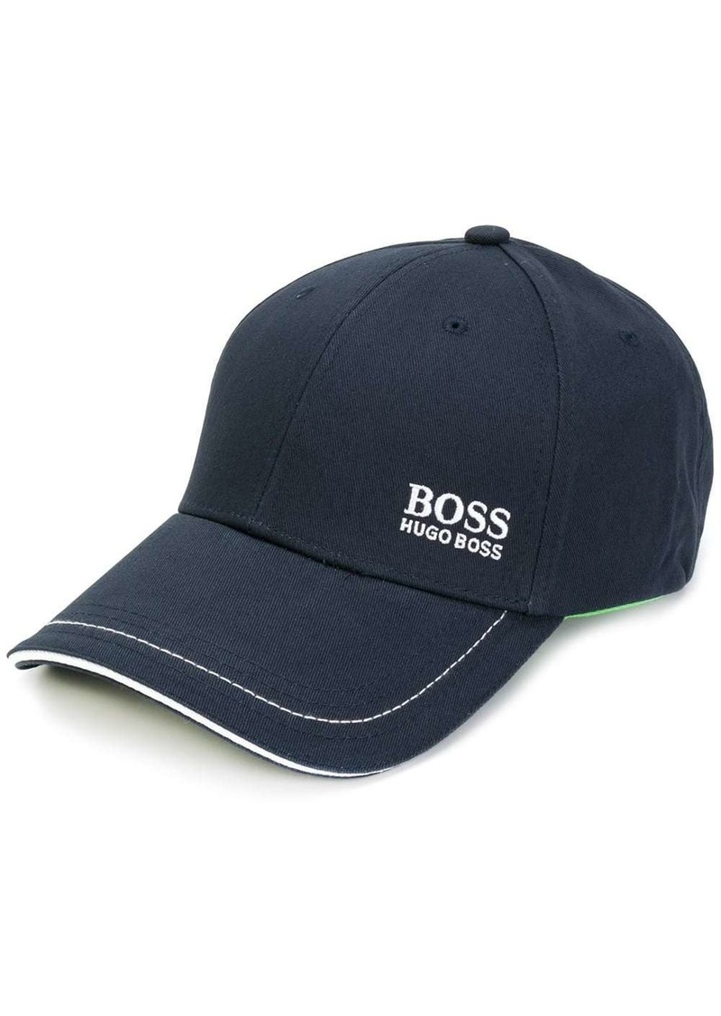 Hugo Boss contrast stitch cap