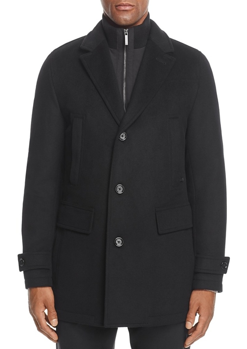 c36f1bd6d9 SALE! Hugo Boss Conway Wool Cashmere Topcoat